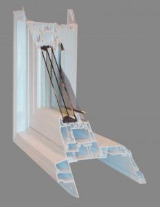 casement windows cut away