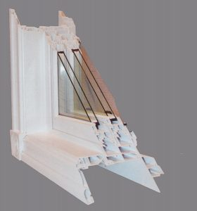 double hung cut away